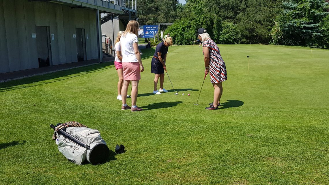 Golfový Club Hodkovičky je součástí projektu Hraj golf změň život