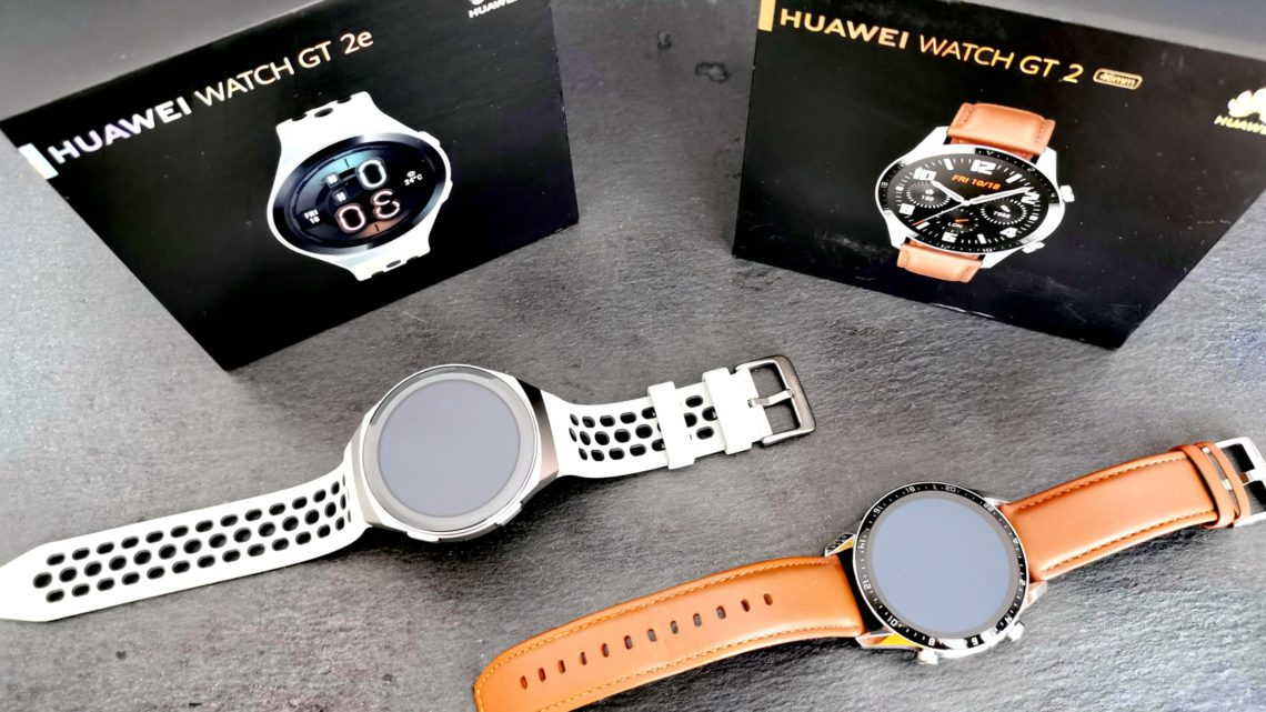 Testování chytrých hodinek HUAWEI WATCH GT 2 a GT 2e